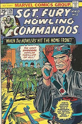 Sgt. Fury and His Howling Commandos #142 (Sep 1977, Marvel) - FN/VF See Scans!