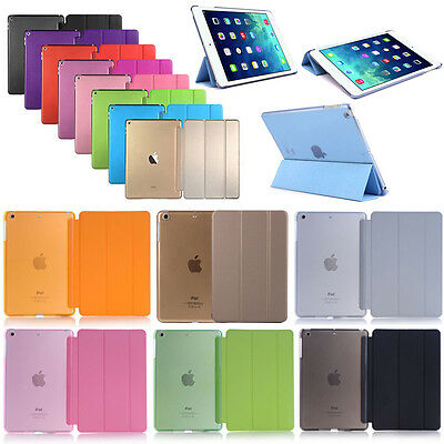 Ultra Slim Smart Case Wake Up Flip PU Cover Stand for iPad Pro Air 2 Mini 2/3/4