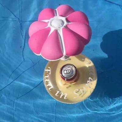 Floating Inflatable Drink Can Holder for Pool, Beach or Bath Oz Seller