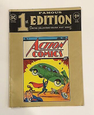 Famous First 1st Editions-Action Comics #1 DC Treasury Oversized Superman C-26