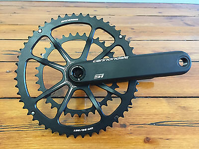 Cannondale Si Hollowgram Spider Ring Crankset Mid Compact 52/36 175mm BB30