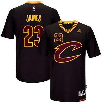 New 2016 Cleveland Cavaliers LeBron James #23 Swingman Black Basketball Jersey