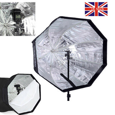 "UK NEEWER 32"" 80cm Octagonal Umbrella Softbox for Flash Speedlite/Studio Light"