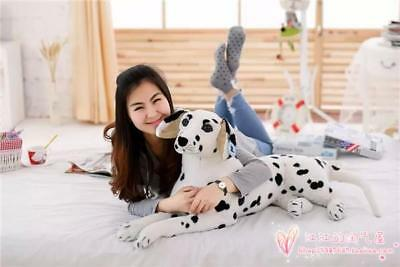 Dalmatian Teddy Spotty Giant Soft Cuddly Cosy Enormous Large Stuffed Soft Dog