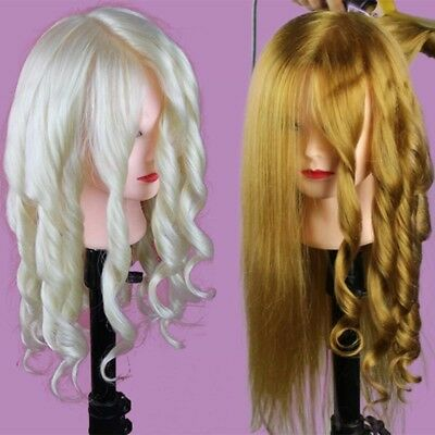 Mannequin woman practical Hairdressing Long Hair Hairdressing Training Mannequin
