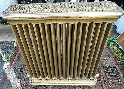 Antique Victorian Ornate RADIATOR CAST IRON Very Good Condition
