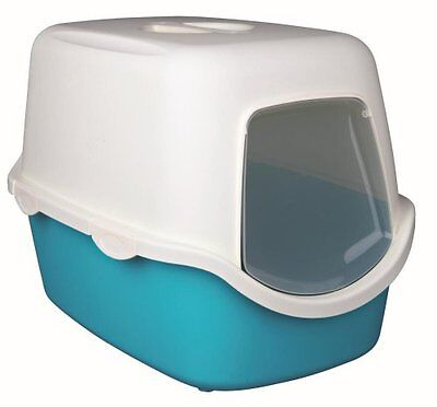 Trixie Vico Litter Tray for Cats Turquoise/White