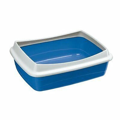 Ferplast Nip Plus 20 Cat Litter Tray, 55 x 40 x 17.5 cm, Blue