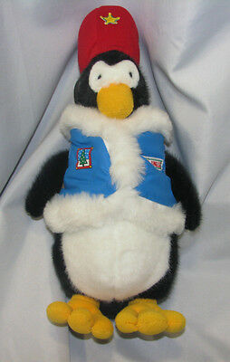 Dayton Hudson Marshall Field's Fields Captain Jingle 1989 Stuffed Plush Penguin