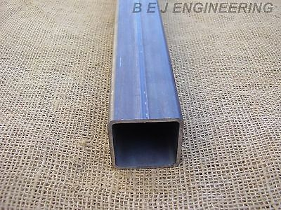 Mild Steel Box Section 50mm x 50mm x 3mm - 450mm lg - Square Tube