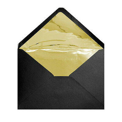 Metallic Gold Foil Lined Wedding Envelopes A7 C7 A6 C6 Dl A5 C5 Free 24 Hour Del