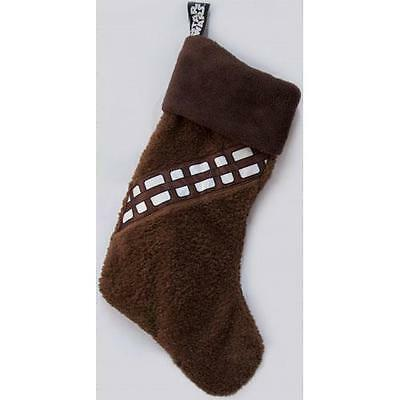 Star Wars - Chewbacca Wookie Fur Christmas Stocking - Official Disney New In Bag