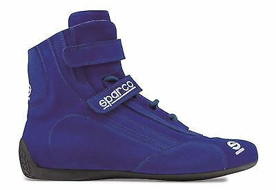 Sparco Top 3 FIA Approved Race/Rally Boots/Shoes Size UK 7, EU 41 Blue