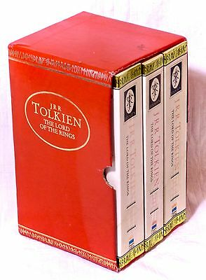 The Lord of the Rings Box Set Part 1-3 Paperback JRR Tolkien Harper Collins 1991