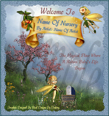 ~~Magical Place Reborn Baby Auction Template & Free Logo~~  Doua