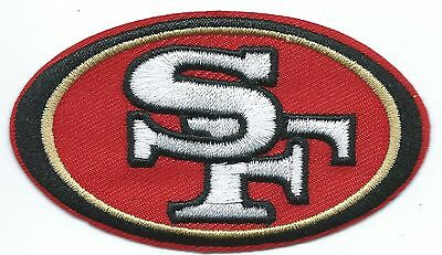 San Francisco 49ers Football Embroidered Patch Iron-on Good Luck Magic Charm