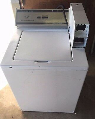 Whirlpool Top Load Commercial Washer CAMT762K00 Coin Operated