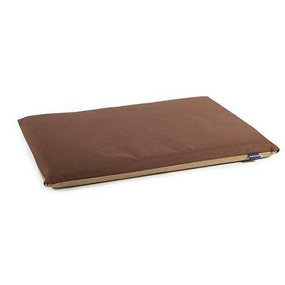 Ancol Waterproof Flat Pad Brown / Beige ** EVERY SIZE ** Dog Puppy Bed