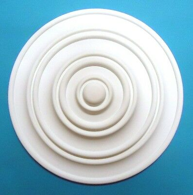 Ceiling Rose - Quality Strong Resin Material - Size 340mm 'Apollo'