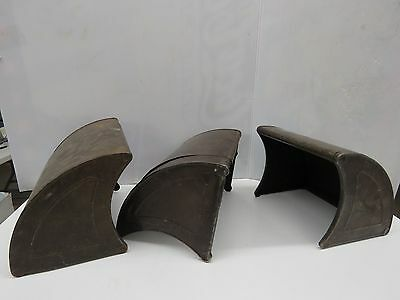 3  Antique Barclay Metal Floor Vent Covers Home  STeamPunk   #123