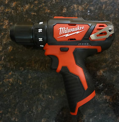 2 X Milwaukee  M12  3/8 in. Cordless Drill/Driver Bare Tool ( Cat. No. 2407-20 )