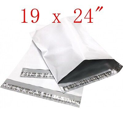 "19 x 24""  Poly Mailers Shipping Envelope Plastic Bags, 2.35 Mil, 50 100 250 300"