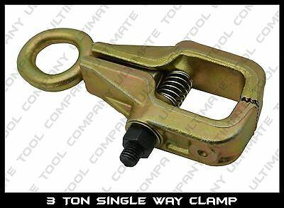 3 Ton Self-Tightening Single Way Frame Back Grips & Auto Body Repair Pull Clamp