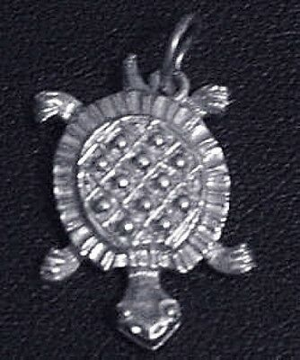 LOOK Silver .925 Baby Turtle pendant Charm Celtic Jewelry