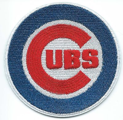 Chicago Cubs Embroidered Patch Iron-on Art Good Luck Charm
