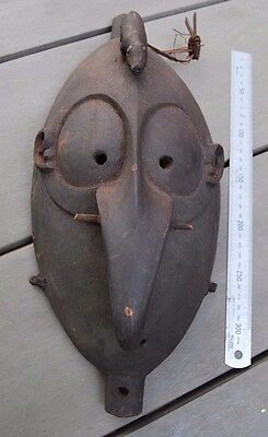 Old New Guinea dance mask with bite bar