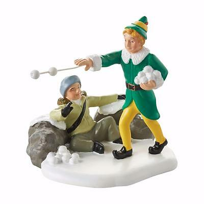 New 2016 Department 56 ELF The Movie Village Snowball Fight Figure 4053409