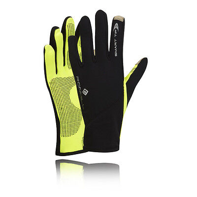 Ronhill Sirocco Womens Yellow Winter Warm Outdoors Running Sports Gloves