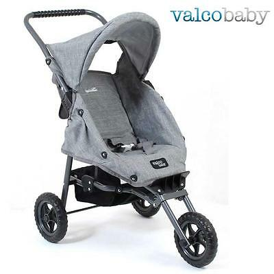 Valco Baby Mini Marathon Tailormade Doll Stroller - Grey Marle