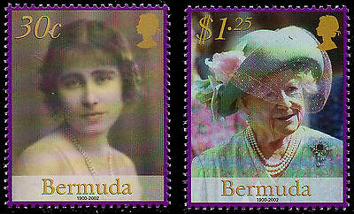 Bermuda 2002 Queen Mother MNH
