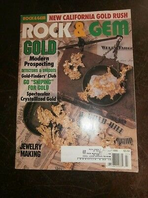 ROCK & GEM MAGAZINE July 1995