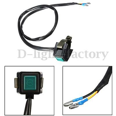 7/8'' 22mm Motorcycle Handlebar Engine Horn Starter Kill Switch On Off Button