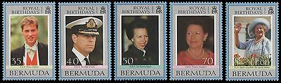 Bermuda 2000 Royal Birthdays MNH