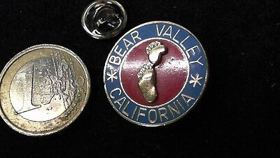 Bear Valley California Pin Badge