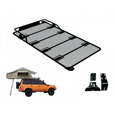 Land Rover Defender 3 Man Roof Tent + Full Roof Rack Outdoor Camping Camper