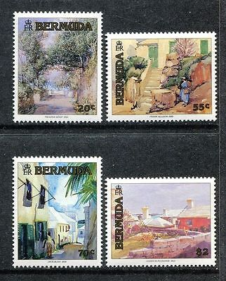 Bermuda 1991 Paintings MNH