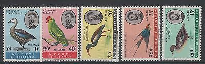 Ethiopia  Air Mail Birds  Stamps  -M  1967 Issue Mint