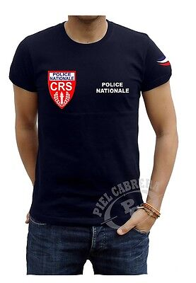 Shirt Police Nationale Crs