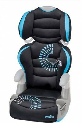 Car Seat with 6 height positions Evenflo Big Kid AMP Booster, Sprocket Brand NEW