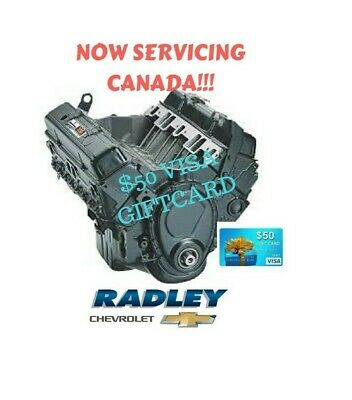 CHEVROLET 10067353 GM Goodwrench 350ci Engine OEM PERFORMANCE DEALER DIRECT