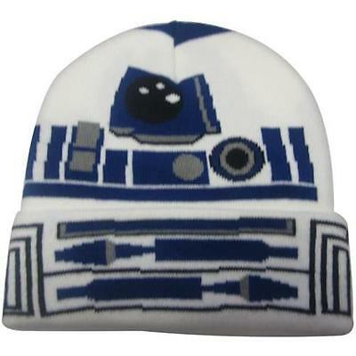 Star Wars - R2-D2 Cuffed Beanie Hat - New & Official Lucasfilm With Tag