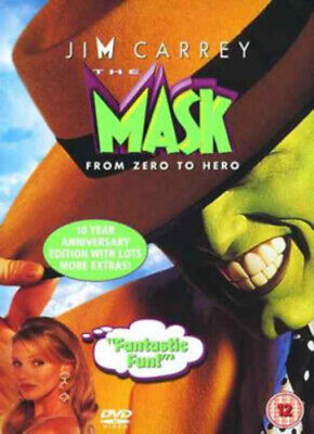 The Mask DVD (2005) Jim Carrey, Russell (DIR) cert 12 FREE Shipping, Save £s