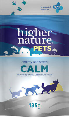 Higher Nature Calm for Dogs & Cats 135g  Stress Anxiety