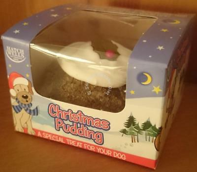 Hatchwells Christmas Pudding Festive Treat For Dogs Delicious Pets Snack New