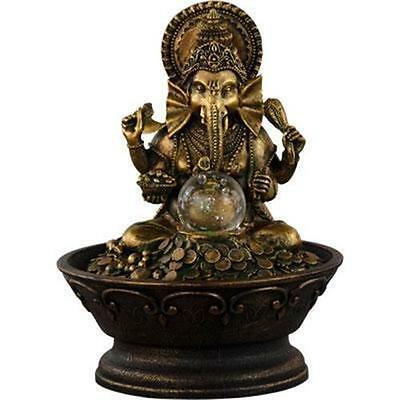 Ganesha Desktop Fountain With Rolling Ball!