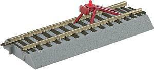AF 6-49866 S Scale FasTrack Straight Track With Lighted Bumper (2)